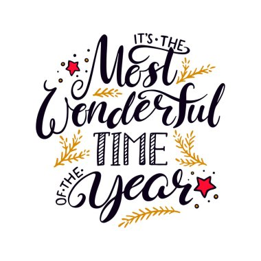 The Most Wonderful Time Premium Vector Download For Commercial Use Format Eps Cdr Ai Svg Vector Illustration Graphic Art Design