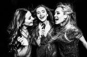 Fotografie Three gorgeous women