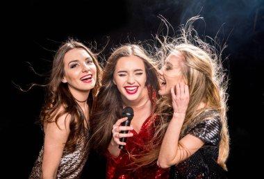 Three gorgeous women