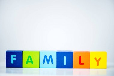 Cubes consists the word family