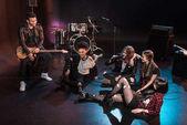 Fotografia Rock and roll band sul palco