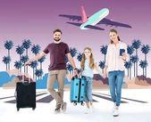 Fotografie Happy family on vacation