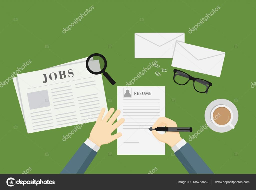 Personas, escribir un curriculum vitae para solicitar empleo ...