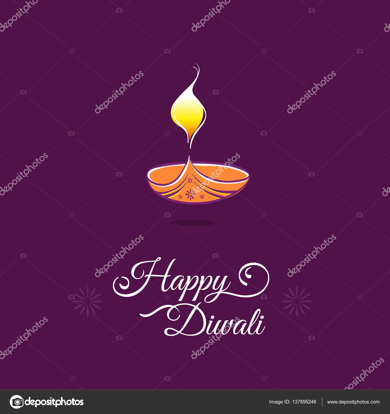 Diwali greeting card stock vector puruan 137895246 diwali greeting card template happy deepavali indian festival lights vector by puruan kristyandbryce Gallery