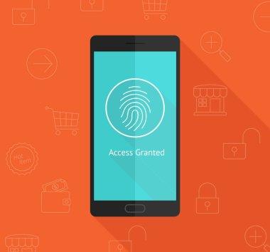 Smartphone fingerprint security