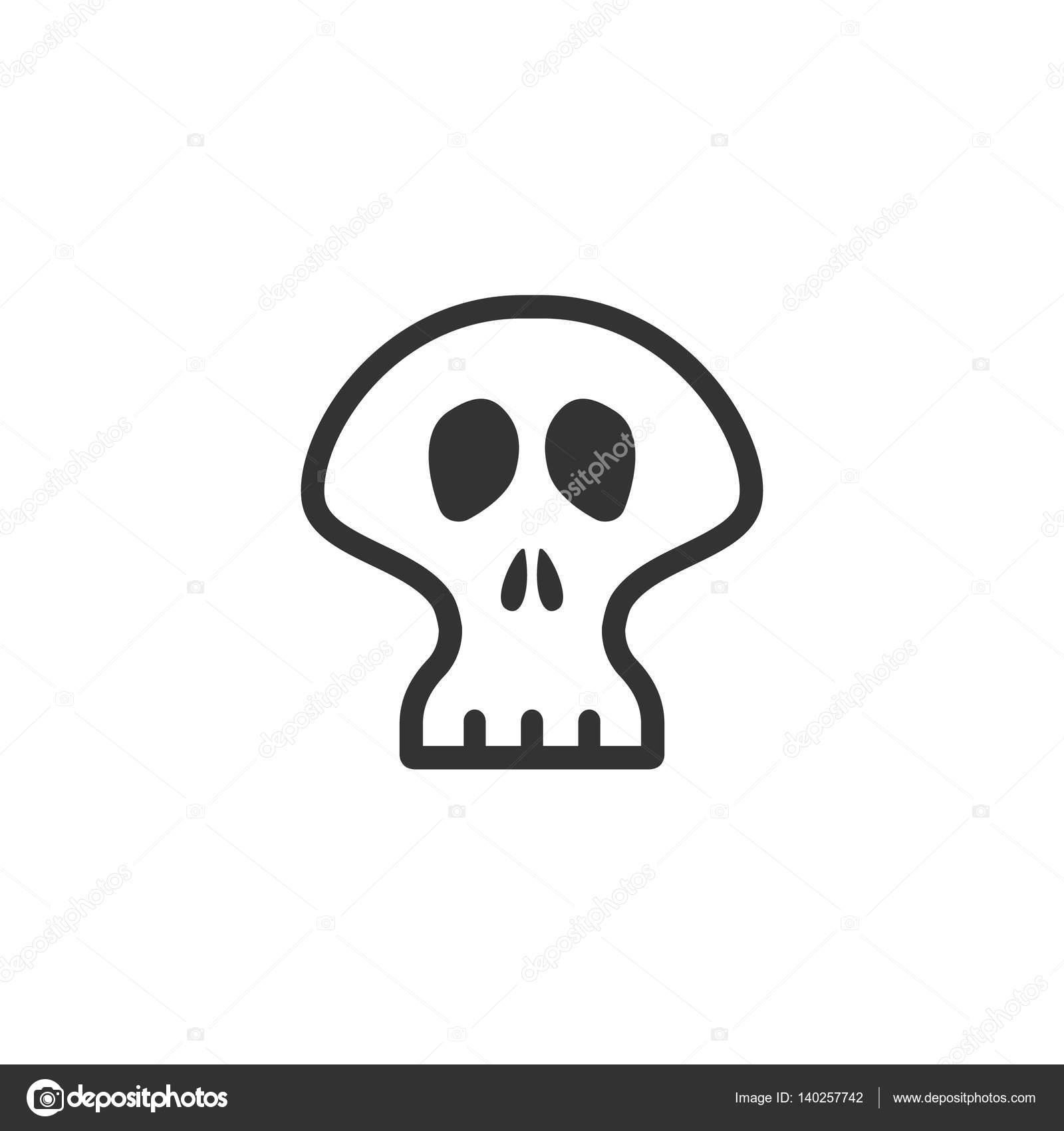 Icono de esqueleto en color único — Vector de stock © puruan #140257742