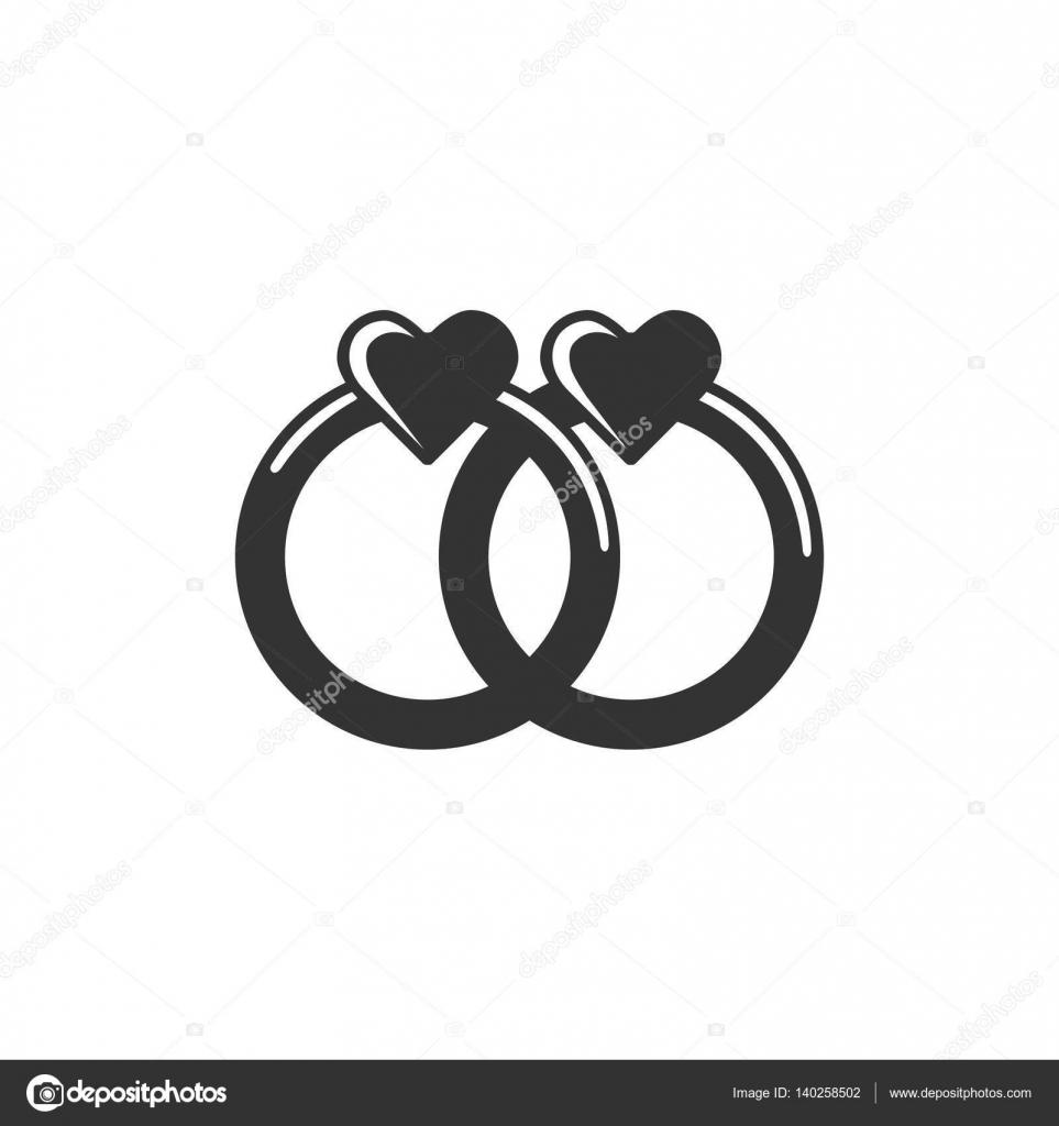 Symbol Eheringe Modeschmuck