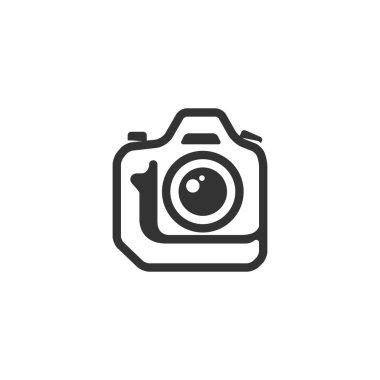 Camera icon in single color.