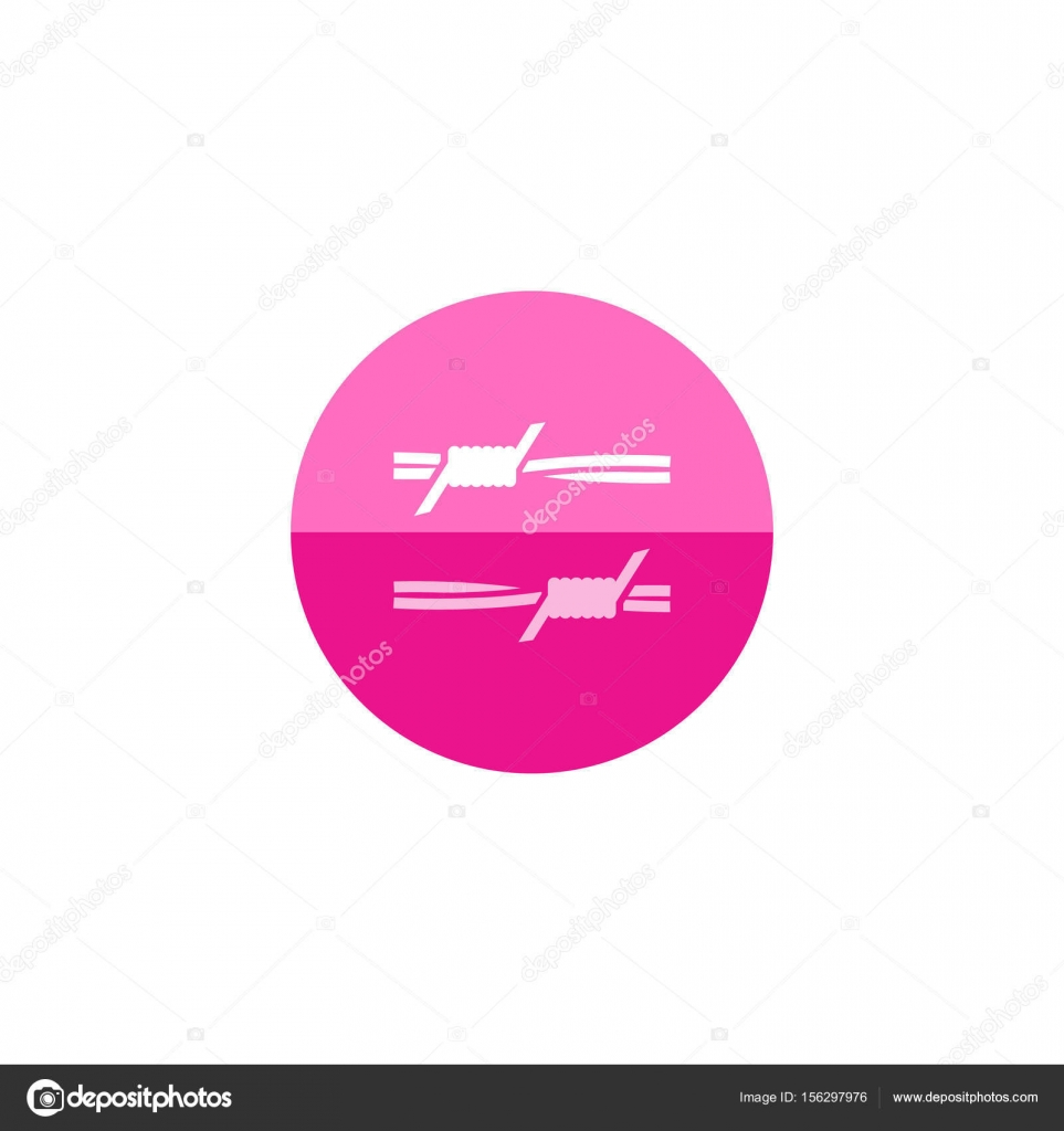 Stacheldraht-Symbol — Stockvektor © puruan #156297976