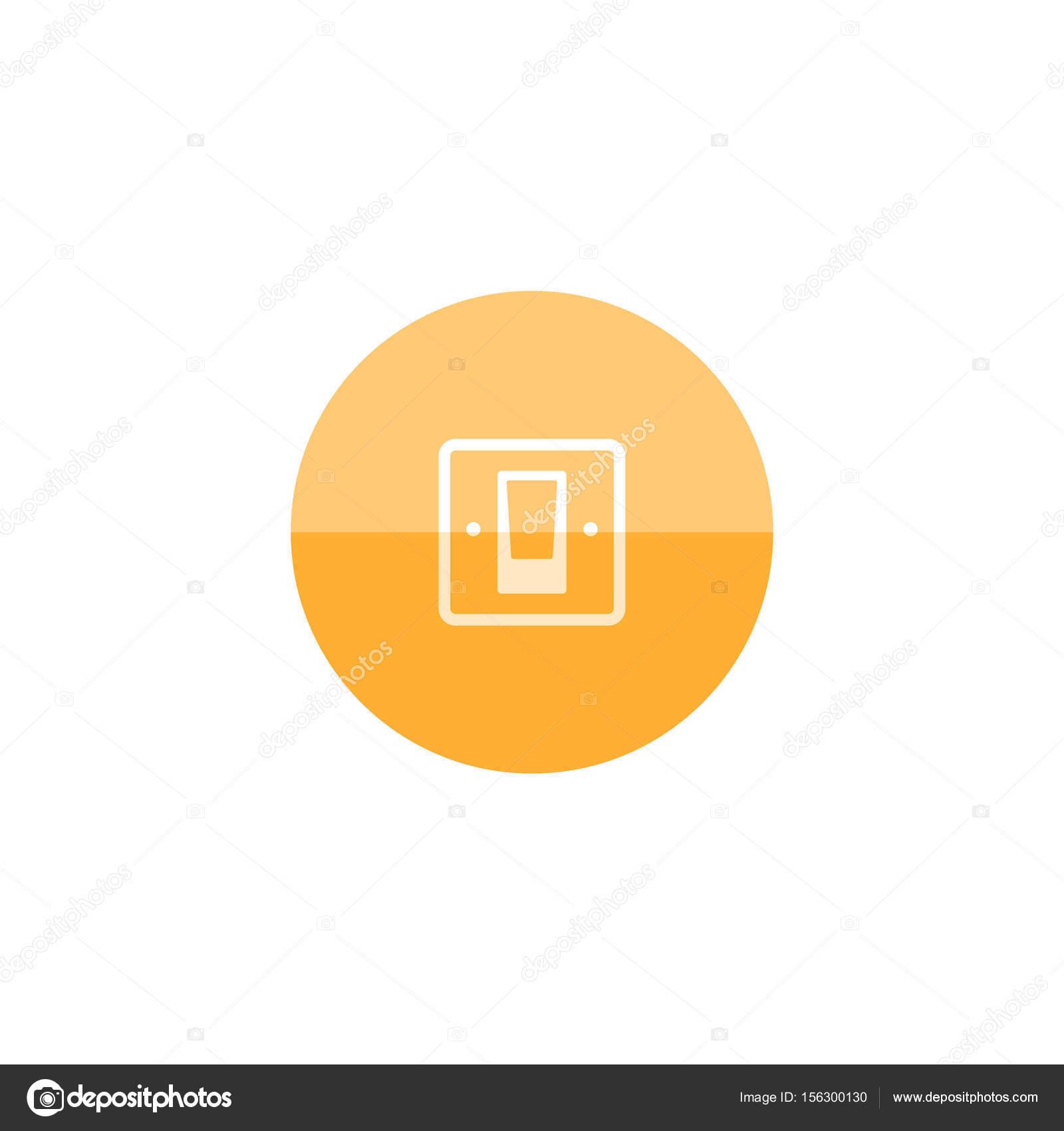 Elektrische Schalter Symbol — Stockvektor © puruan #156300130