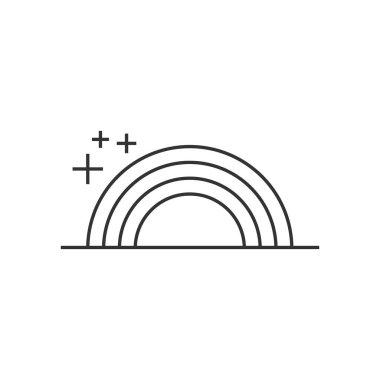 Outline icon - Rainbow
