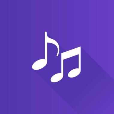 Metro Icon - Music notes