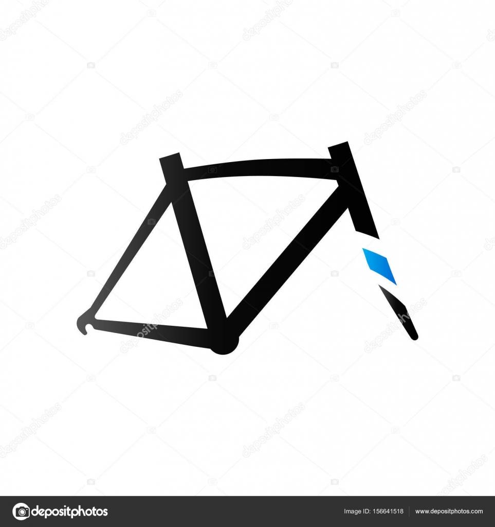 Fahrrad-Rahmen-Symbol — Stockvektor © puruan #156641518