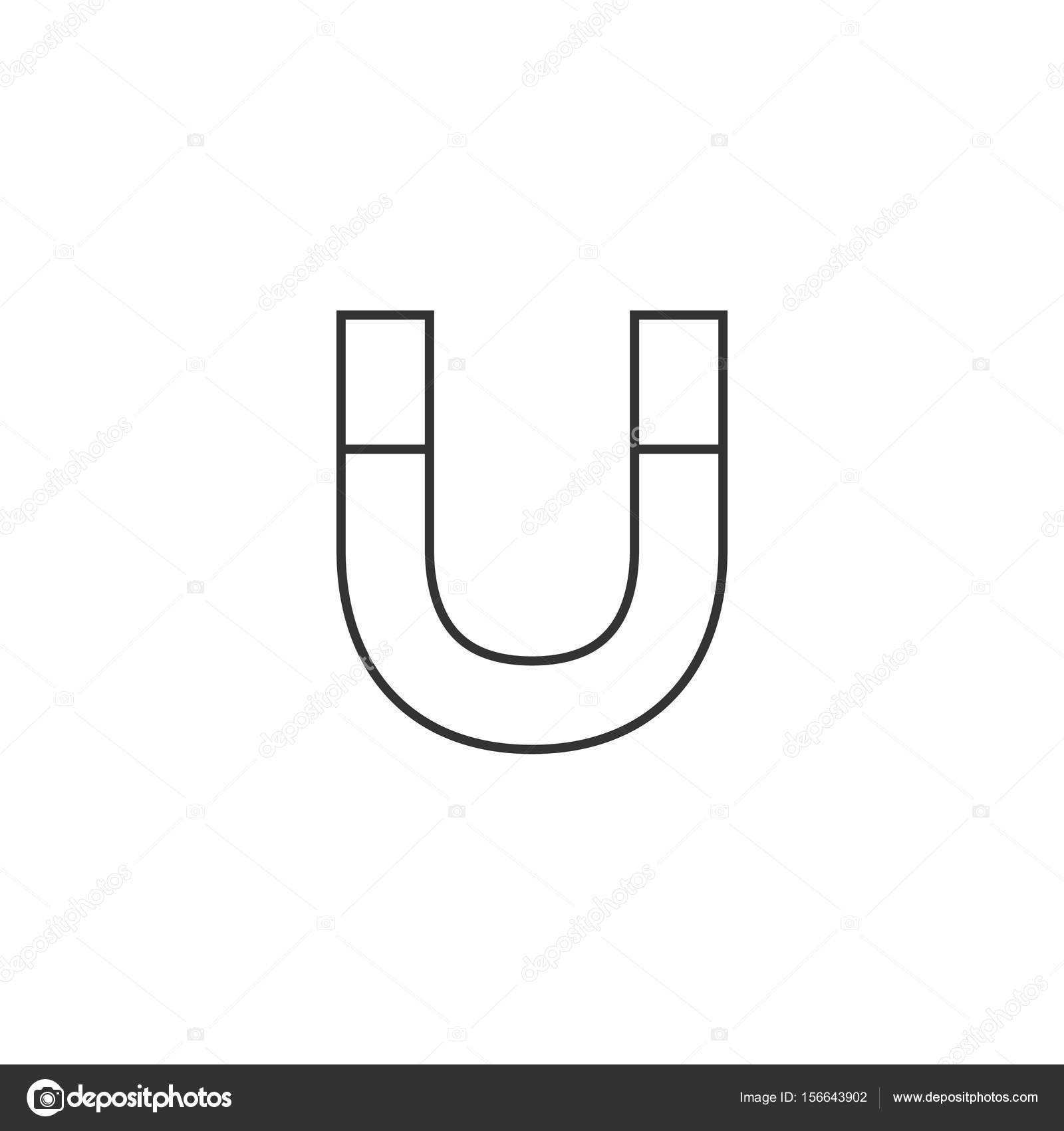 Outline icon - Magnet — Stock Vector © puruan #156643902