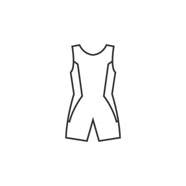 Outline icon - Triathlon suit