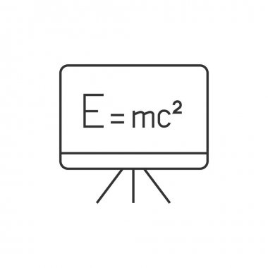 Outline icon - Blackboard