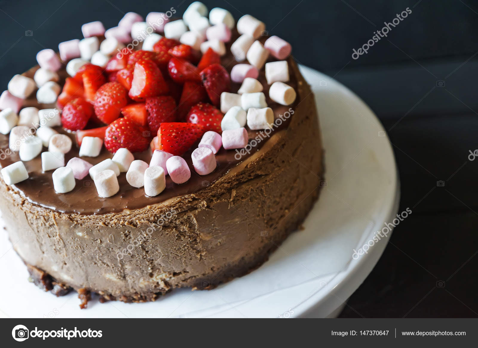 tårta mörk choklad