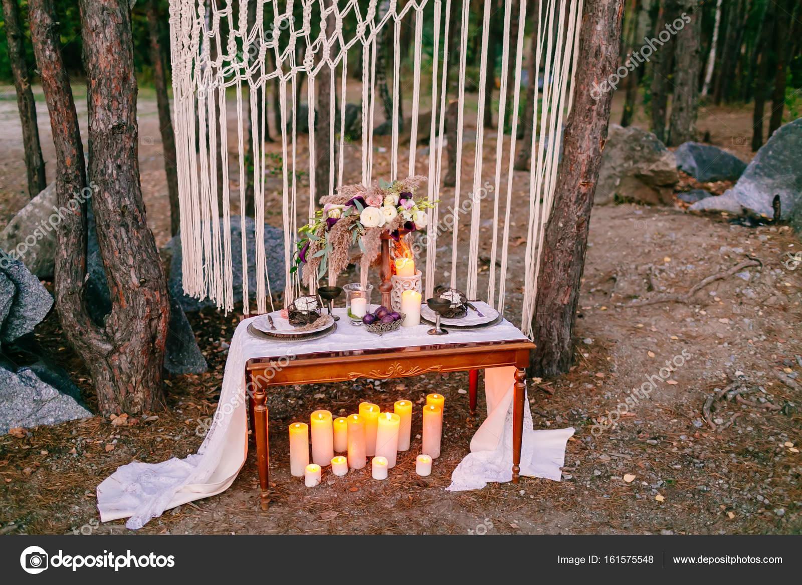 Svatebni Dekorace V Rustikalnim Stylu Vylet Obrad Svatba V Prirode