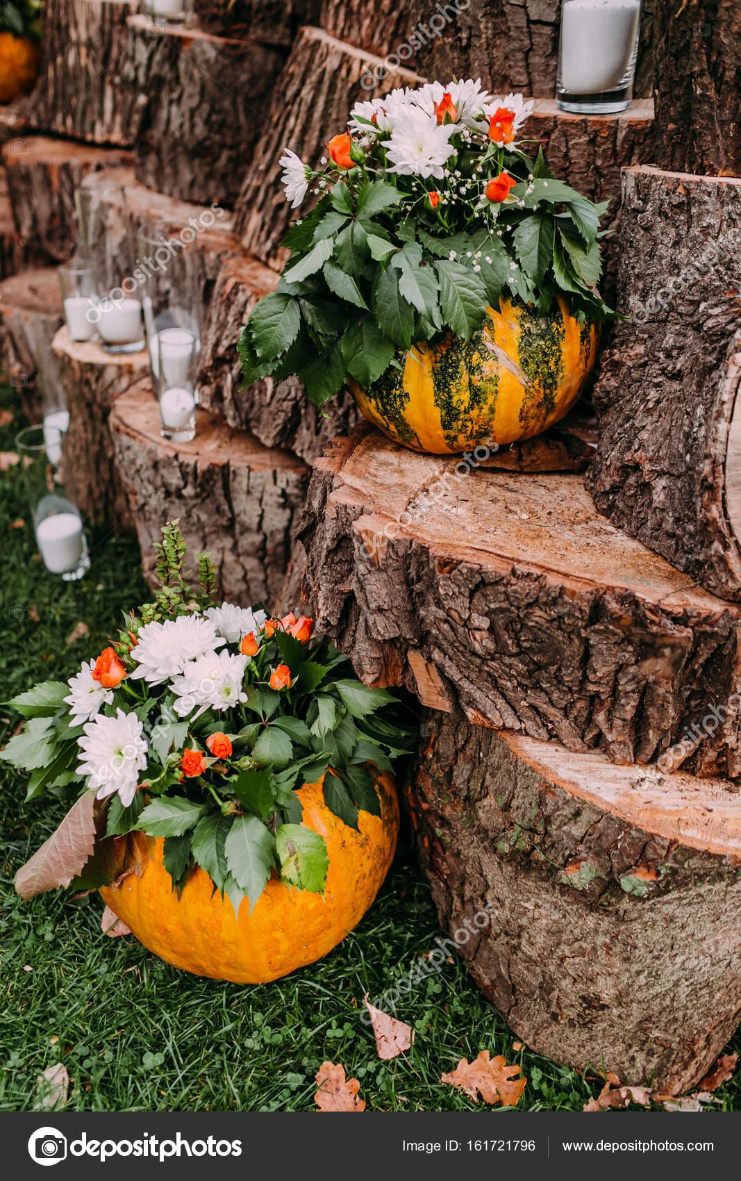 Krasne Svatebni Dekorace Podzimni Svatba V Oranzove Barvy Dyne