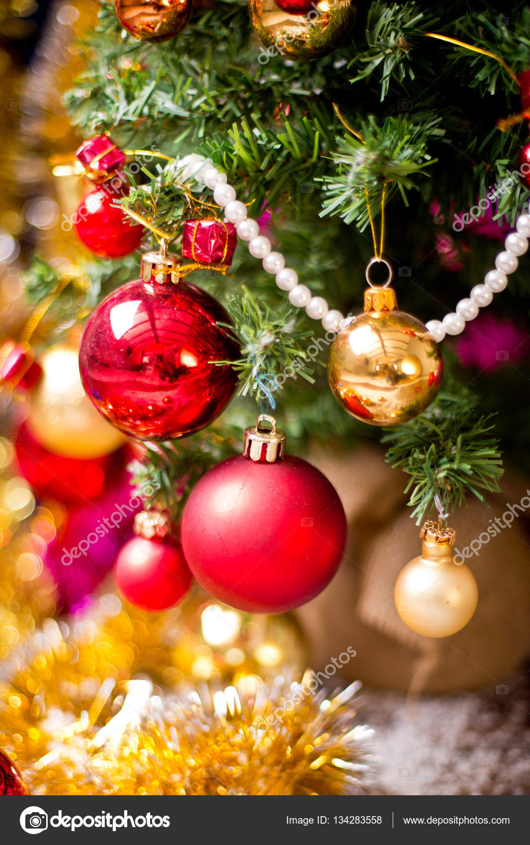 Christmas Tree Horse Decor Stock Photo C Lelik83 134283558