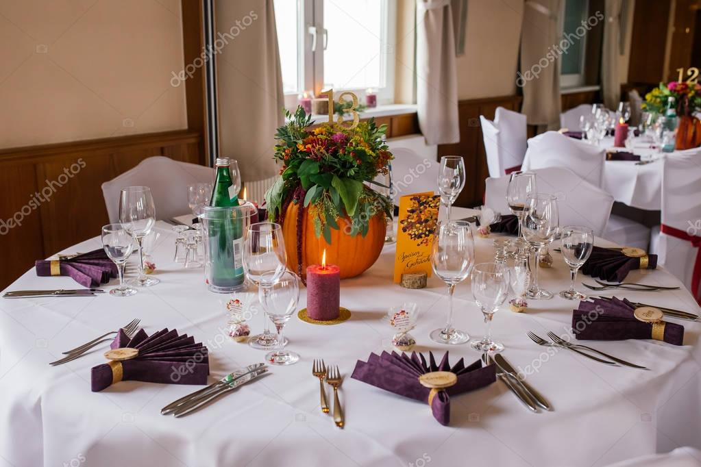 Decor Wedding Flowers Table Stockfoto Lelik83 137497792