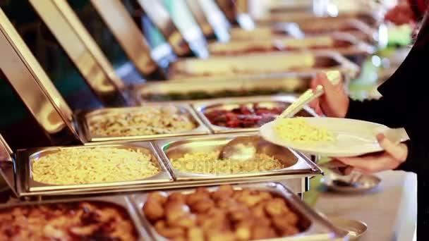 Zásobování potravin svatební událost