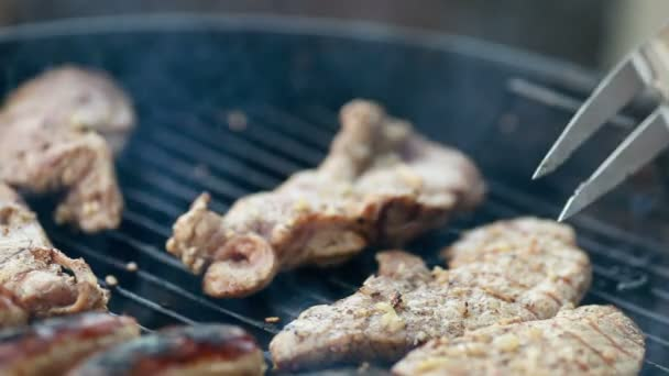 grilování grilování horký steak