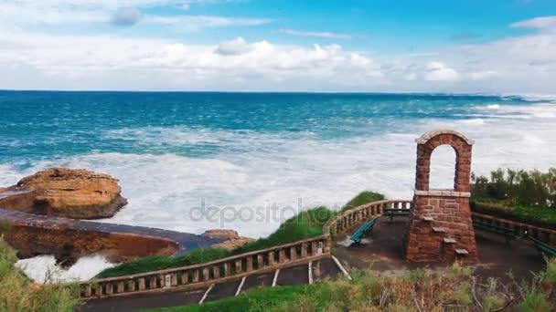 blauer Ozean Strand Frankreich