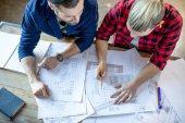 architekti diskutovat o plánování