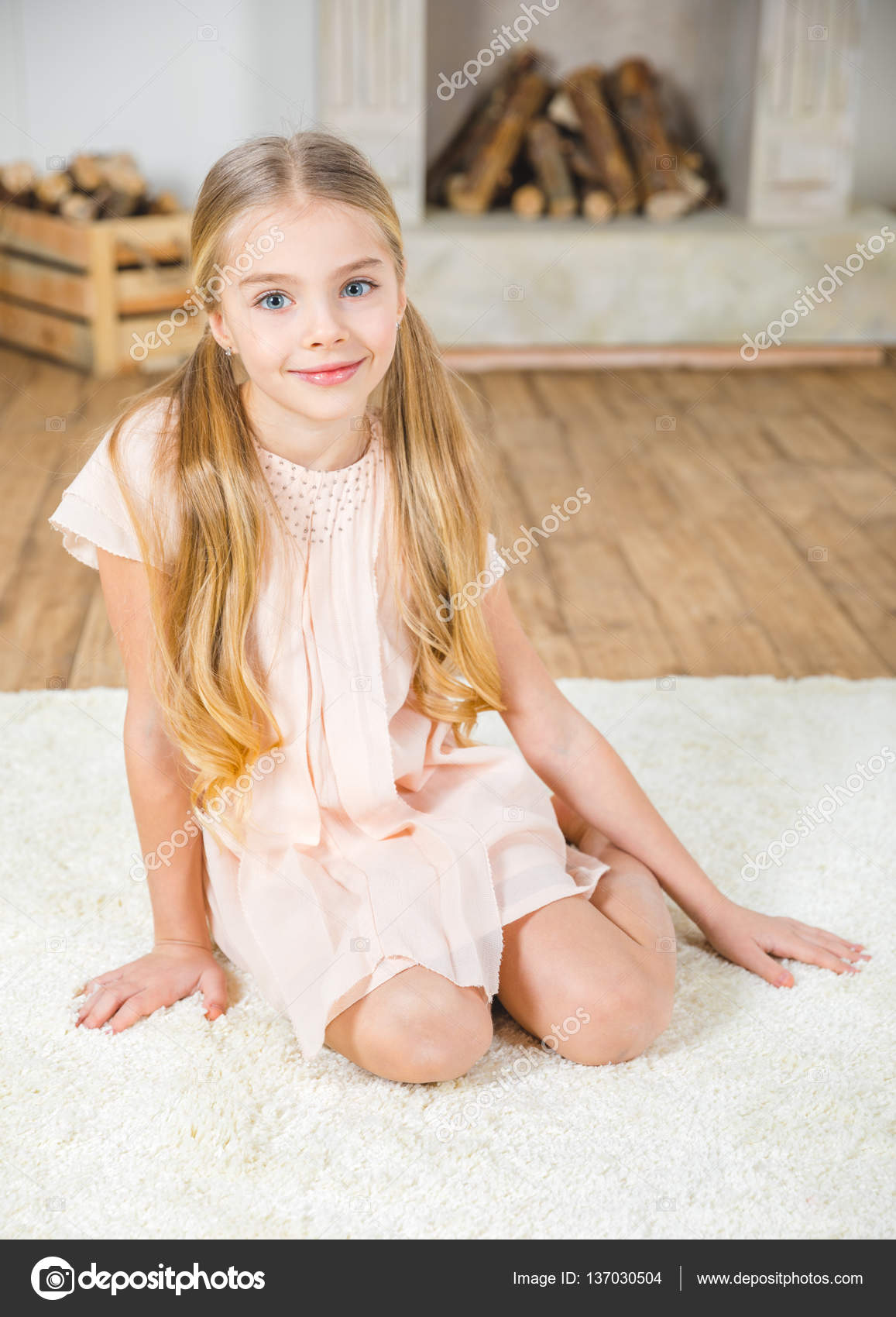 cute little girl — stock photo © andreybezuglov #137030504