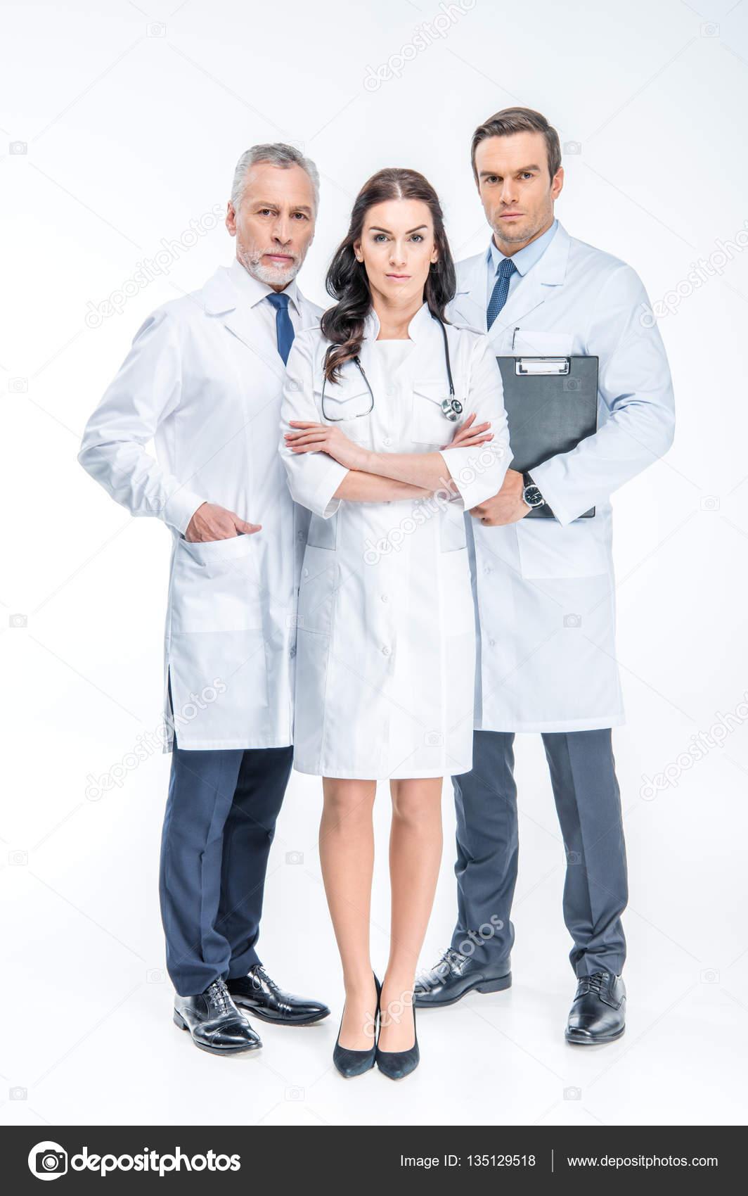 Three confident doctors — Stock Photo © IgorTishenko #135129518