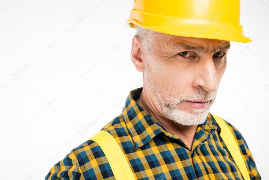 Workman in hard hat