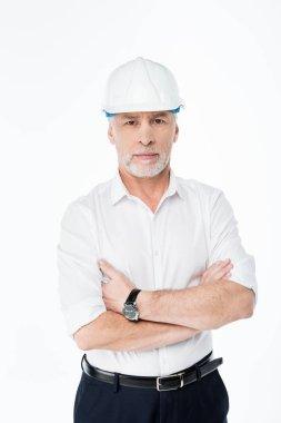 Mature male architect