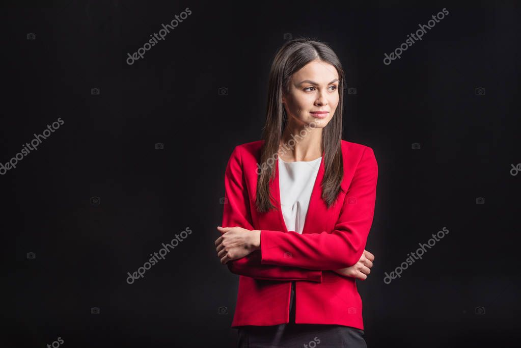 Young confident woman