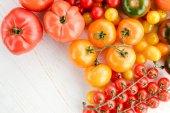 Čerstvá zralá rajčata