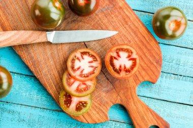 fresh tomatoes on board
