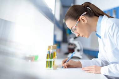 scientist working in laboratory