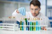 Wissenschaftler arbeitet im Labor
