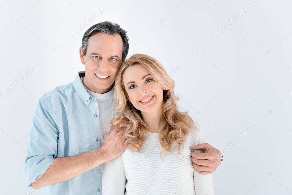 stylish mature couple