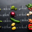 stock-photo-fresh-vegetables-and-calories-table