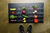 Fotografie čerstvá zelenina a kalorie tabulka
