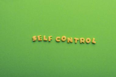 self controt concept