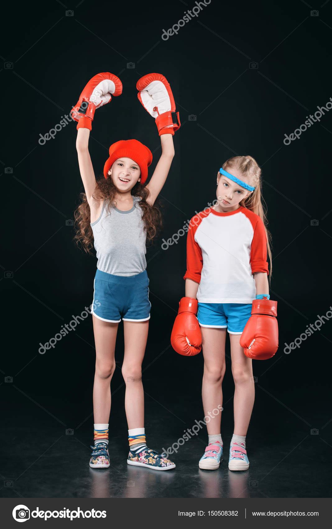 Фото девушек в боксерский перчатках