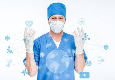 Senior male surgeon