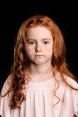 Photo adorable redhead girl