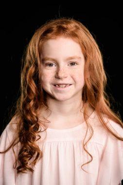 adorable redhead girl