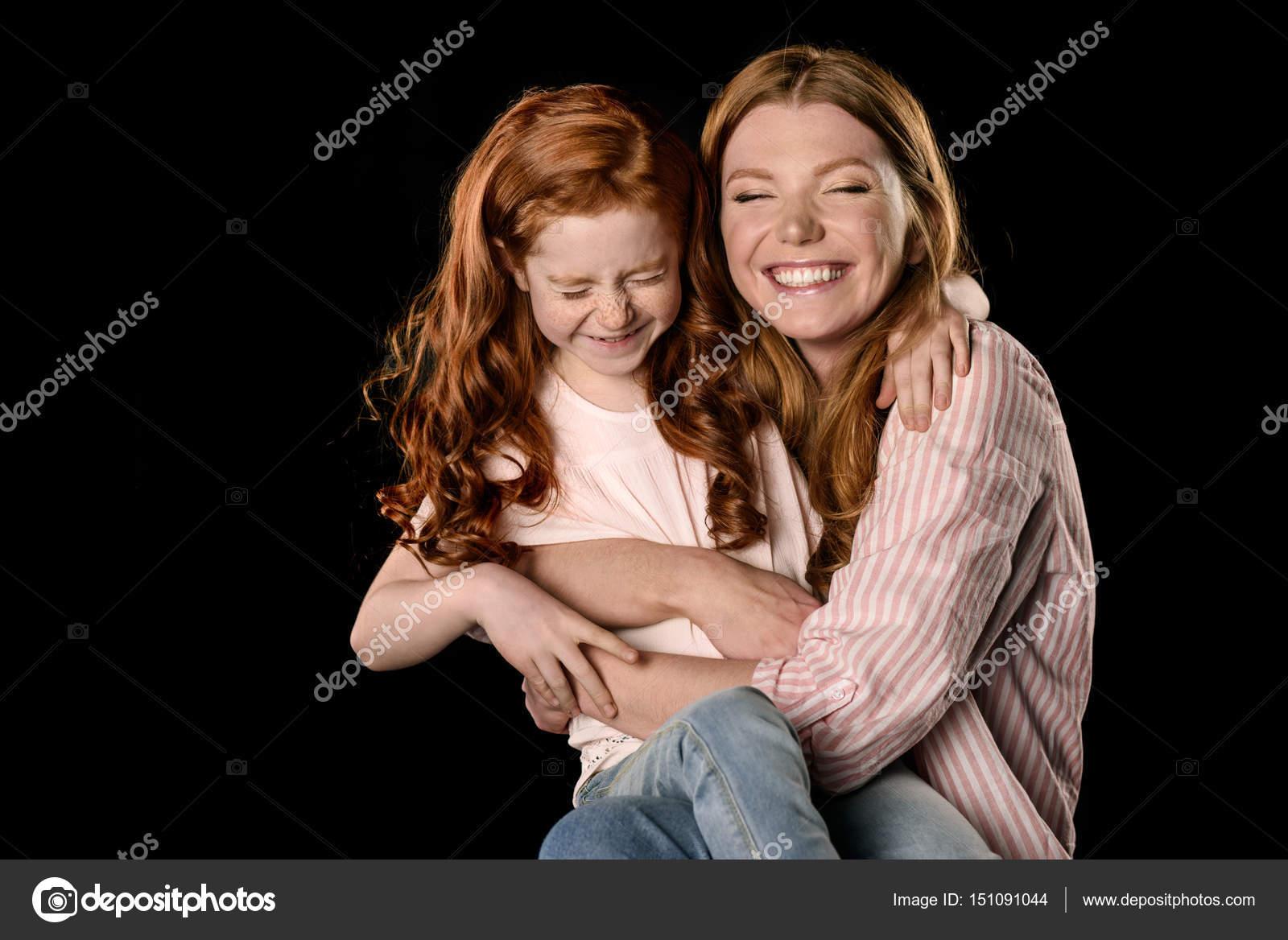 Mama und Tochter lesbischen SpaГџ Ebenholz Babe anal