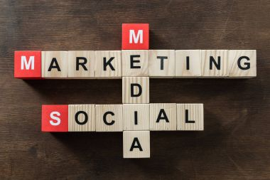 social media marketing word