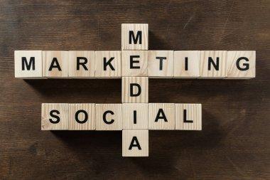 Social media marketing word