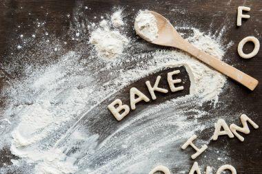 Word bake from cookies
